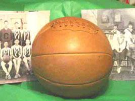 Баскетбольный мяч образца 1920 года