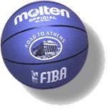 Резиновый мяч компании Molten