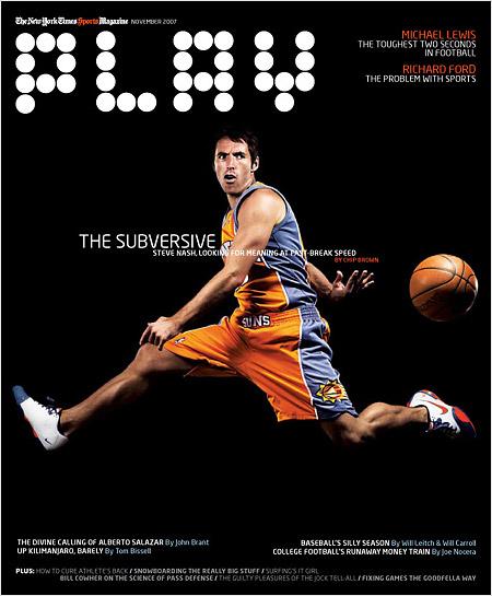 Стив Нэш. Журнал Play